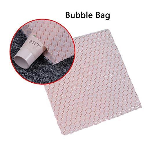 LINKLANK 50 Luftpolsterbeutel, schützende Luftpolstertaschen, transparente Polstertaschen, Dicke stoßfeste Schaumstoffbeutel für Versand Lagerung und Umzug