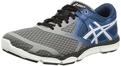 Asics 33-DFA, Chaussures de Running Entrainement Homme - Gris (Taupe/Cloud White/Mosaic Blue 1298) - 42 EU