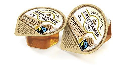Breitsamer Honig Imkergold FairTrade Portionen flüssig 120x20g (2.400g)