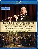 Emmanuel Pahud, Hommage à Frédéric Le Grand : Concertos pour flûte. Pinnock, Pahud. [Blu-ray]