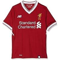 New Balance Liverpool Camiseta, Niños, Rojo, S