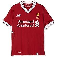 New Balance Liverpool Camiseta, Niños, Rojo, M