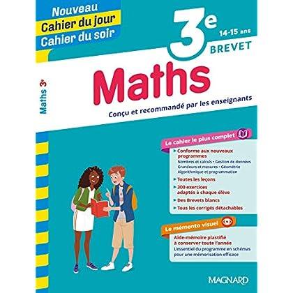 Cahier du jour/Cahier du soir Maths 3e