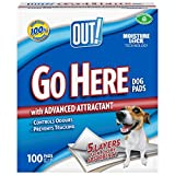 Out! Moisture Lock Dog Training Pads - 100 Pack