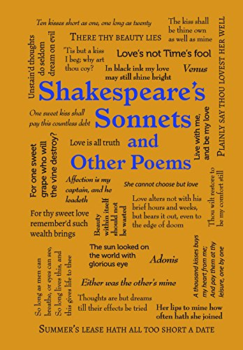 Shakespeare's Sonnets and Other Poems (Word Cloud Classics) by [Shakespeare, William]