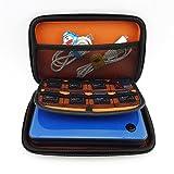 Homeself Schwarz + Orange Wasserdicht schwer Reise Trage Spiel-Kasten-Beutel-Abdeckung für neues 3DS XL / 3DS XL / 3DS LL / NEW 3DS / 3DS, Größe: 185 * 120 * 40mm