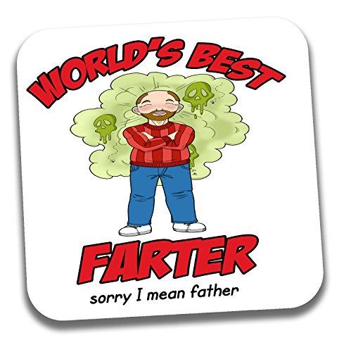 'Vatertags- oder Geburtstag, Geschenkidee für Vater oder Stepdad,World 's Best Farter, Sorry I mean Father-Aufschrift,