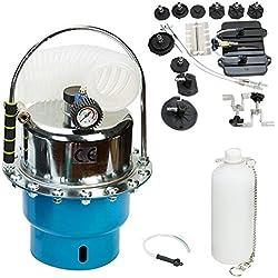 FreeTec Bremsenentlüftungsgerät Bremsen Entlüftungsgerät Bremsenentlüfter Druckluft 5L KFZ Werkzeug