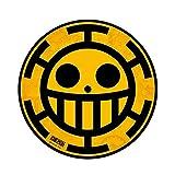 One Piece - Mausmatte Mauspad - Pirates of Heart - Trafargar Logo - 21,5 cm
