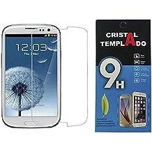 Fologar Protector de Pantalla Cristal Templado para Samsung Galaxy S3 I9300 SIII