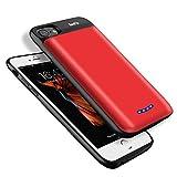 BeeFix 5000mAh Akku Hülle für iPhone 8 / iPhone 7 / iPhone 6s / iPhone 6 (4.7 Zoll) Ultra Dünne...