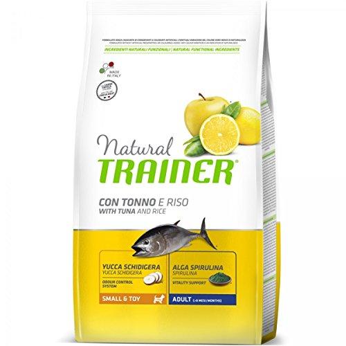 Pienso perro Natural Trainer Adult imantado arroz-2x