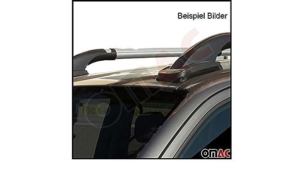 Dachreling /& Dachträger Gepäckträger Set Grau Alu für Isuzu D-Max ab 2012 4tlg