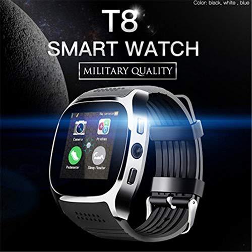 DDGOU T8 Bluetooth Smart Watch Mit Kamera Musik Player Sync SMS Smartwatch Für Frauen Männer