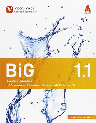 BIG 1 VAL TRIM (BIOLOGIA I GEOLOGIA) AULA 3D: Big 1. Biología I Geologia. Comunitat Valenciana. Llibre, 1,2 I 3 Aula 3D: 000003 - 9788468230948 por Miguel Angel Fernandez Esteban