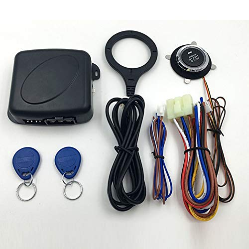 Smart Car Engine Push Start Stop Button RFID Lock Ignition Keyless Entry  System Auto Start-Stop Immobilizer Starline