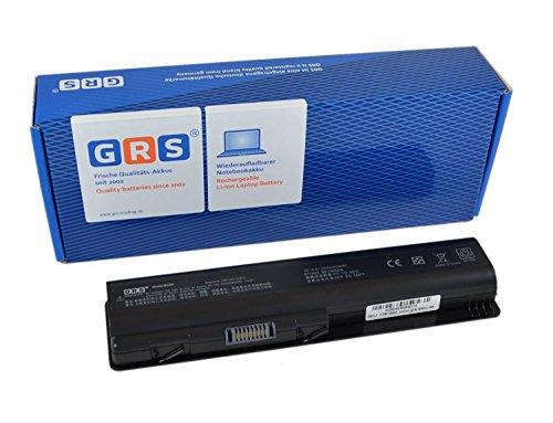 GRS Batterie d'Ordinateur Portable fç ¬ R HP Pavilion dv4, dv5, dv6, Compaq Presario CQ40, CQ70, remplace : 484170-001, HSTNN-UB72, HSTNN-CB73 HSTNN-CB72, 484171-001, HSTNN-LB72, 485041-003, 462890-541, KS524AA, 485041-001, 498482-001, ordinateur portable Batterie 4400 mAh 10,8 V