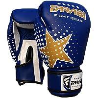 Farabi - Guantes de boxeo para niños - ideales para kickboxing, artes marciales, MMA (artes marciales mixtas), Muay Thai, fitness y gimnasio - 177 ml