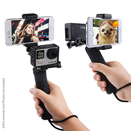 stabilizing-hand-grip-for-gopro-hero-5-4-3-3-with-dual-mount-tripod-adapter-and-universal-phone-hold