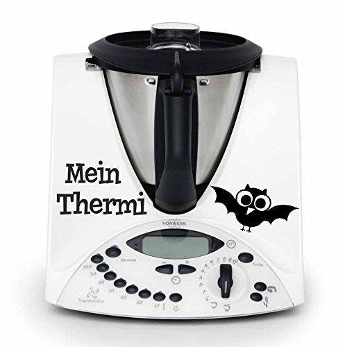 """Preisvergleich Produktbild Thermomix Aufkleber """"mein Thermi"""" hochwertiger,langlebiger Aufkleber, viele Farben zur Auswahl TMX 31 TM31 Thermomix Sticker Skin"""