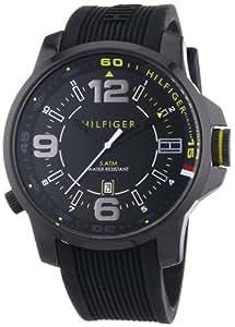 Tommy Hilfiger Herren-Armbanduh XL Brandon Cool Sport Analog Quarz 1791008
