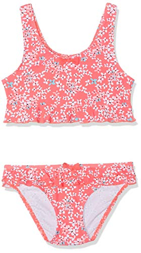 Mädchen Bikini (Sanetta Mädchen Bikini Badebekleidungsset, Rot (Grenadine 3701), 140)