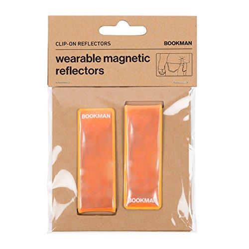 Bookman Magnetiche Reflektoren Clip-on Reflectors Orange, 374