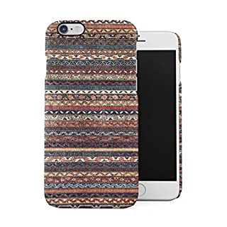 Braun Native Indie Aztec Tribal Mosaic Pattern Dünne Handy Schutzhülle Hardcase Aus Hartplastik Hülle für iPhone 6 / iPhone 6S Handyhülle Case Cover