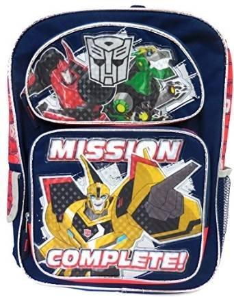 formers–Bumblebee Mission Complete Schulranzen NEU 109480 (Neu Transformers Bumblebee)