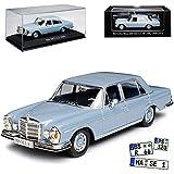 alles-meine.de GmbH Mercedes-Benz S-Klasse 300SEL 6.3 Limousine Blau Grau W109 1965-1972 1/43 Ixo Modell Auto mit individiuellem Wunschkennzeichen
