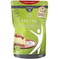 borchers Stevia Kristalline Streusüße   Mit Erythrit   Rebaudiosid A   Kalorienfrei 300g