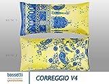 Bassetti Kissenhülle zu BW | Correggio V4 | 40 x 40 cm in