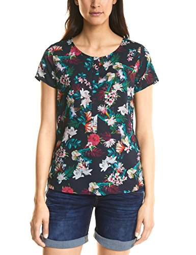 Street One 340930, Blusa para Mujer, Multicolor (White 20000), 44