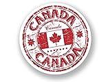 2x Kanada Vinyl Aufkleber Reise Gepäck in Kanada # 7072 - 10cm/100mm Wide