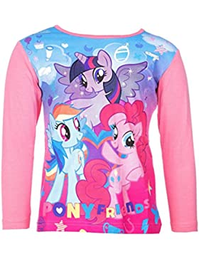 My Little Pony Langarm-Shirt, original Lizenzware, rosa, Gr. 92 - 116