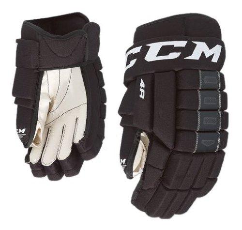 CCM 4Rolle Eishockey Handschuhe-Junior, schwarz, 30,5 cm