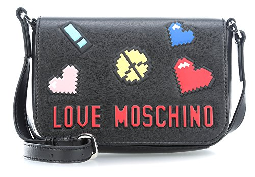 Love Moschino Pixel crossbody black