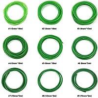 Cinturón de poliuretano de alto rendimiento con superficie rugosa de poliuretano verde para transmisión de transmisión, 2 mm, 3 mm, 4 mm, 5 mm, 6 mm, 8 mm, 10 mm, 12 mm, 15 mm