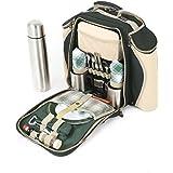 Greenfield Collection Deluxe Picknick-Rucksack für 2Personen