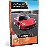 DAKOTABOX - Coffret Cadeau - ADRÉNALINE ET PILOTAGE - 1140 activités : 1 stage de pilotage jusqu'à 6 tours : Ferrari F458, Lamborghini, Maserati…...