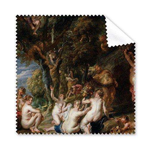 Nymphs und Satyrs Rubens, Peter Paul berühmten Öl Schulen des Barock panintings Öle Brille Tuch Reinigungstuch Handy-Display von 5x