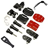 Grab Bag of Mounts Kit For GoPro Hero 3 4 5 6 7 HD Camera