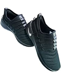 MOB Men's Wear Black Sports Shoes In Various Sizes