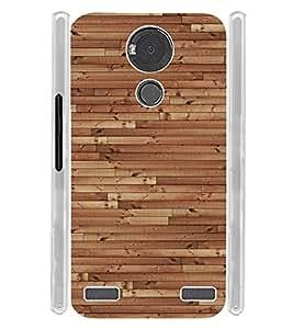 Wooden Floor Texture Soft Silicon Rubberized Back Case Cover for YU Yureka Note :: YU Yureka Note YU6000