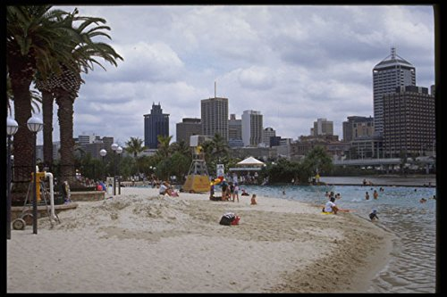 411051-south-bank-parklands-beach-brisbane-queensland-a4-photo-poster-print-10x8