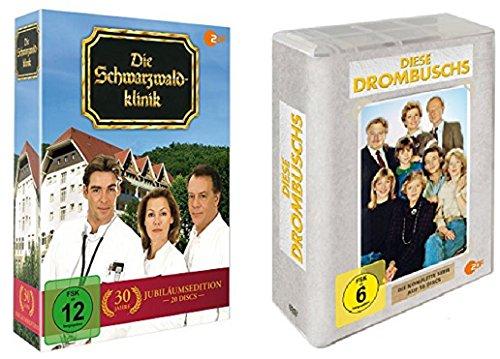 Die Schwarzwaldklinik Box Komplette Serie + Diese Drombuschs Box Komplette Serie / DVD Box Set