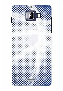 Noise Rugby Blues Printed Cover for Micromax Canvas Nitro A310