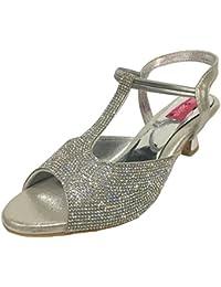 Step N Style Women High Heel Flat Wedding Khussa Shoes Ethnic Indian Khussa Jutti