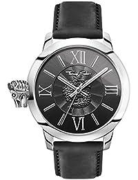 e31c73fdf21 Thomas Sabo Men s Watch Rebel With Karma black silver Analogue Quartz