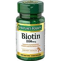 Nature's Bounty - alta potenza biotina 1000 mcg. -100 tavoletta